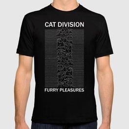 Cat Division Sans Serif T-shirt