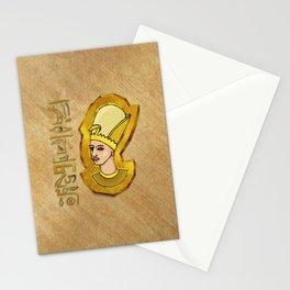Pharaoh Hieroglyphics Egyptian Folk Art Stationery Cards