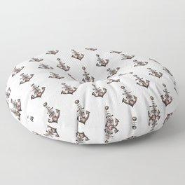 Ship's Anchor Floor Pillow