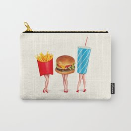 Combo Meal Pin-Ups Carry-All Pouch