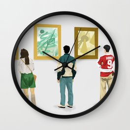 Ferris Bueller at the Art Museum Wall Clock