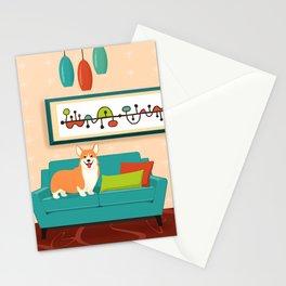 A Corgi Makes A House A Home Stationery Cards