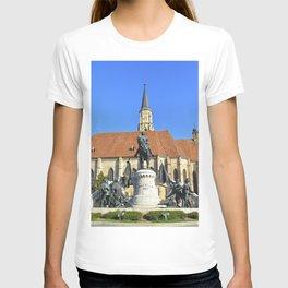 cluj napoca church T-shirt