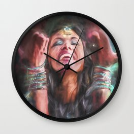 Dancer in Motion Wall Clock