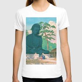 KAMAKURA DAIBUTSU - Kawase Hasui T-shirt
