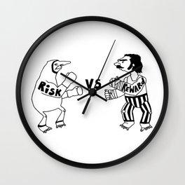 Risk vs Reward Wall Clock