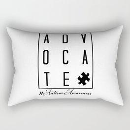 Advocate #Autism Awareness. Autism awareness, Autism, autism mom, autism boy girl Rectangular Pillow