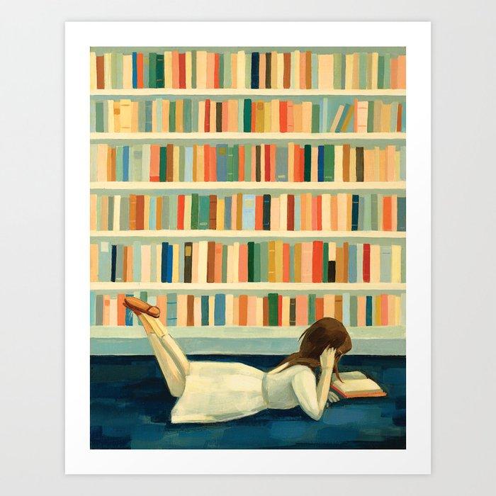 I Saw Her In the Library Kunstdrucke