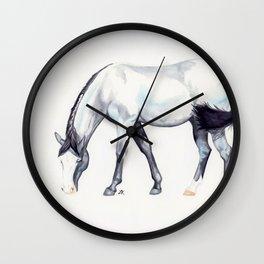 Blue Roan Wall Clock