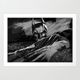 Bat hero Kunstdrucke