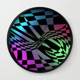 Psychedelic Rockers Wall Clock