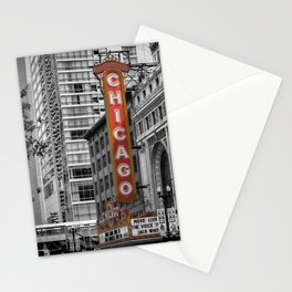 CHICAGO State Street Stationery Cards