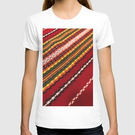 Authentic Bulgarian tablecloth T-shirt