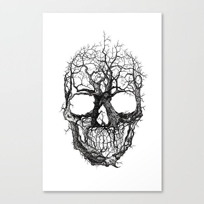 Tree Skull Leinwanddruck