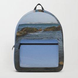 Cap Gris Nez seaside landscape in France / fine art travel print Backpack