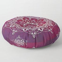 Mandala - Love Floor Pillow