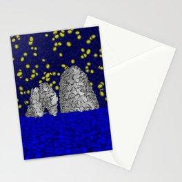 Starry Capri Stationery Cards