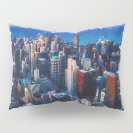 Chicago Panorama Pillow Sham