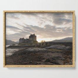 Donan Castle, Isle of Skye Serving Tray