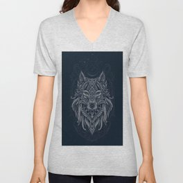 Wolf of North - Unisex V-Neck