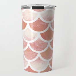 Mermaid scales Travel Mug