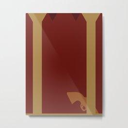 Firefly Minimalist Poster - Mal Metal Print