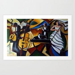 The Jazz Group Kunstdrucke