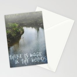 There Is Magic In the Woods Stationery Cards