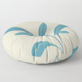 The shy plant Floor Pillow
