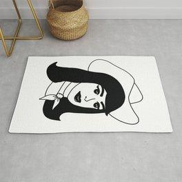 Cowgirl Rug