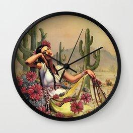 Desert Dreamer Wall Clock