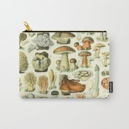Wild Mushroom Chart Carry-All Pouch