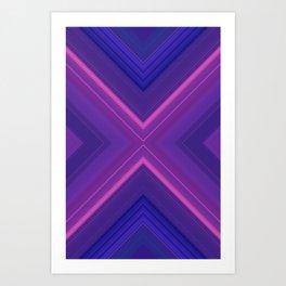 Artificial Purple Art Print