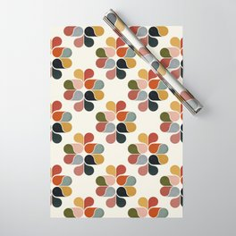 Retro geometry pattern Wrapping Paper