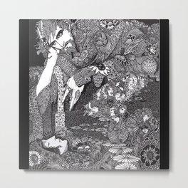 Morella by Harry Clarke Metal Print