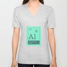 Periodic Elements - 13 Aluminium (Al) Unisex V-Neck
