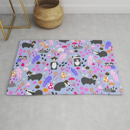 The Badger Detectives   Purple Rug
