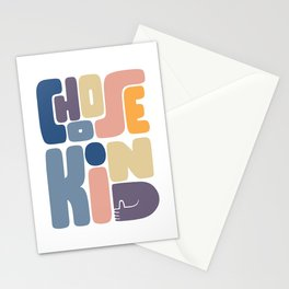 Choose Kind Stationery Cards