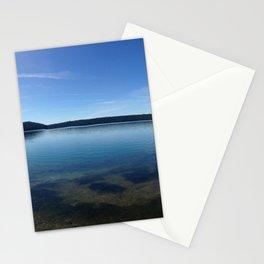 Paulina Lake Panorama Stationery Cards