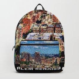 Harlem Renaissance Cityscape Art Motif by Jeanpaul Ferro Backpack