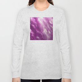 In the Company of Myself: Abstract #4 Long Sleeve T-shirt