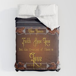 The Greatest Is Love Comforters
