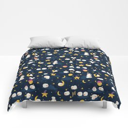 Counting Sheep Kids Bedtime Pattern Comforters