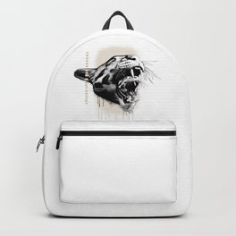 Don't Touch My Kitten (text in French) Backpack