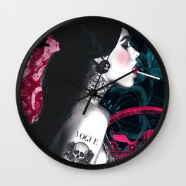 Lollypop Girl · Tattoo Girl · Sexy Girl · Brand Lover Girl Wall Clock