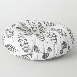 Flock Floor Pillow