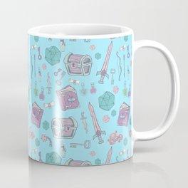 Dungeons and Dragons (blue) Coffee Mug