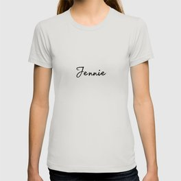 Jennie Calligraphy T-shirt