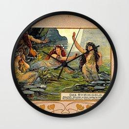 Das Rheingold Wall Clock