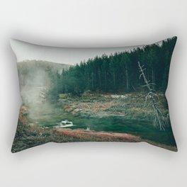 Frosty Morning Thermal Area Rectangular Pillow